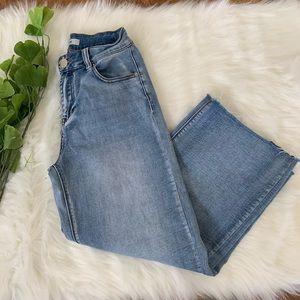 Refuge | Blue Jean Wide Leg High Waist Jeans 6